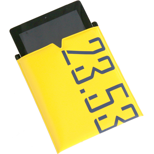 Ipad POUCH yellow